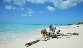 Playa Paraíso en Cayo Largo, Cuba