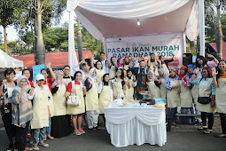 Pasar Ikan Murah Ramadhan 2018 di Kota Harapan Indah