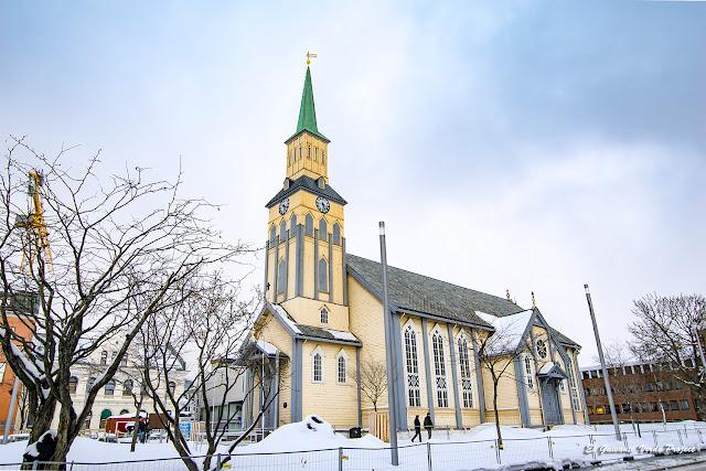 Catedral de Tromsø - Noruega, por El Guisante Verde Project