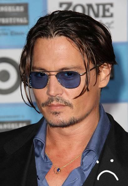 Surprising Johnny Depp Facial Hair Cbru Short Hairstyles For Black Women Fulllsitofus