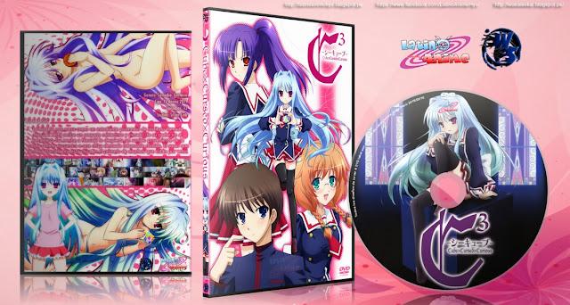 C3: Cube x Cursed x Curious   Cover DVD  