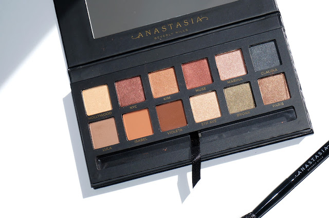 The Beauty Look Book - Anastasia Beverly Hills Master Palette by Mario review