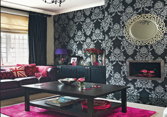 Wallpaper Ideas Living Room Feature Wall With Room Feature Wall Ideas