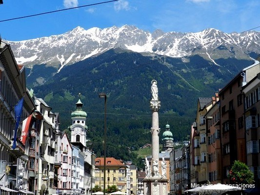 Columna de Santa Ana, Innsbruck, Tirol, Austria