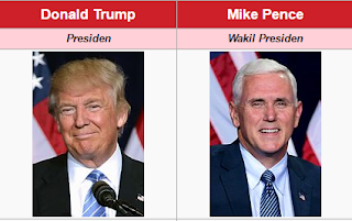 image Donald Trump Presiden ke 45 Amerika Serikat