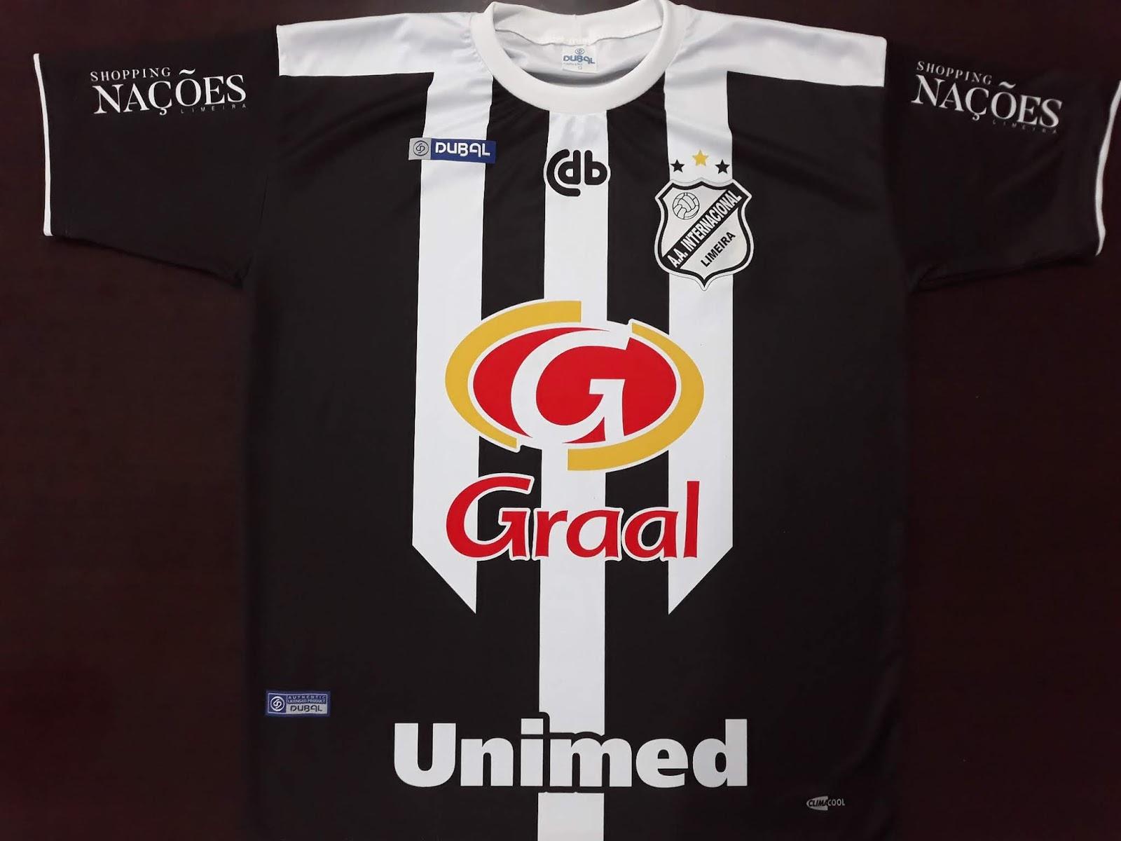 c5a1378f7b Dubal lança as novas camisas da Internacional de Limeira - Show de ...