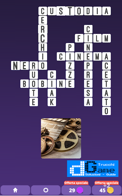 Soluzioni One Clue Crossword livello 19 schemi 10 (Cruciverba illustrato)  | Parole e foto