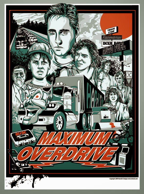 Little Shop of Horrors Maximum Overdrive 1986 USA