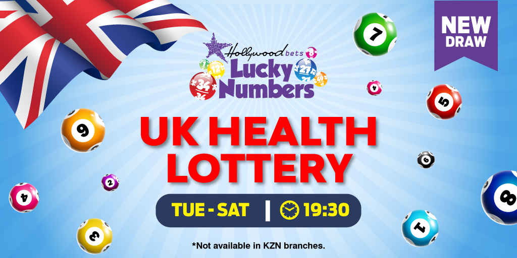 UK Health Lottery 5/50 - Hollywoodbets - Lucky Numbers