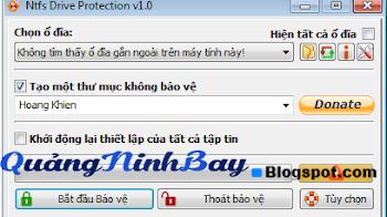 Bảo Vệ USB Của Bạn Khỏi Virus, Chống Ghi Xóa Dữ Liệu Với Phần Mềm NTFS Drive Protection