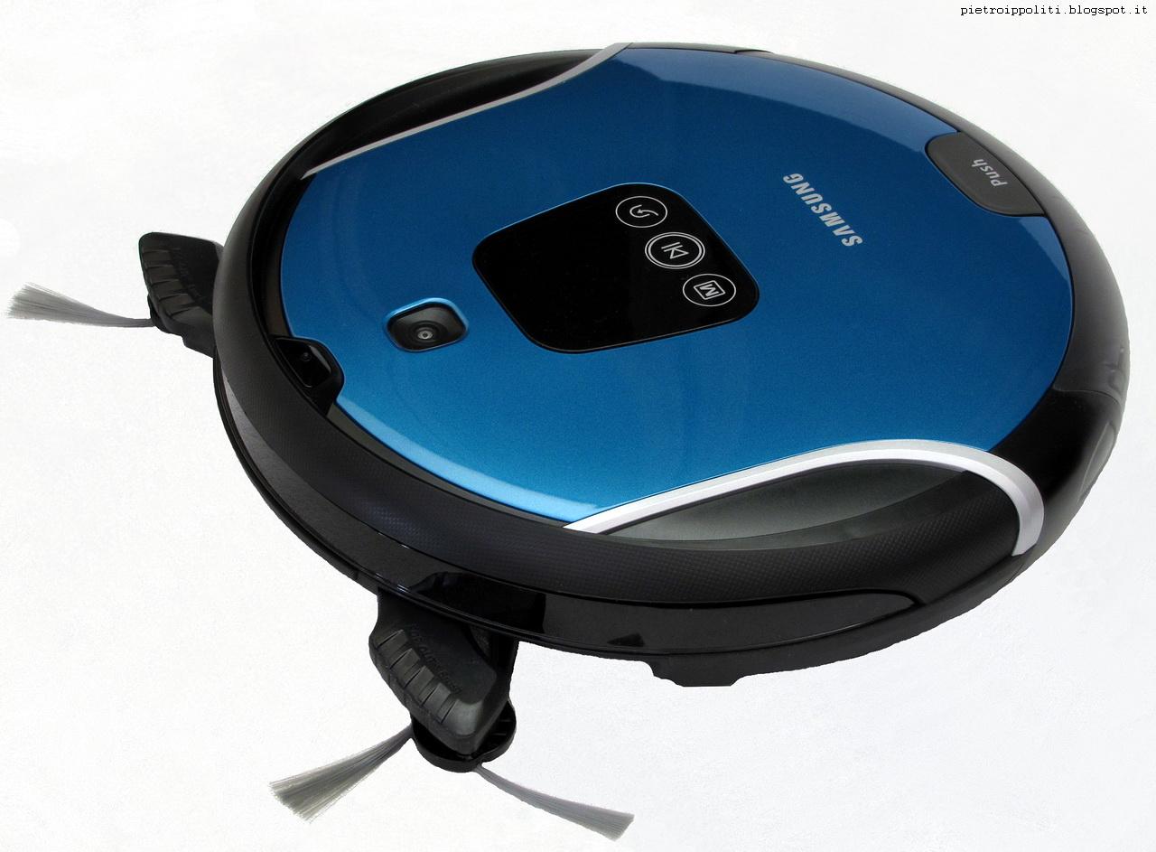 Navibot S Pop-Out VR10F71UCBC, con spazzole laterali estese