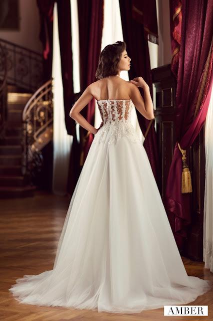 rochie de mireasa 2017 corset