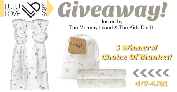 The Mommy Island Wrap Them In Love With Lulu Love Baby Swaddle Blankets