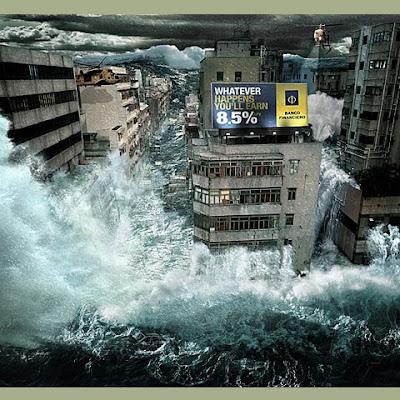 fotomontaje inundación