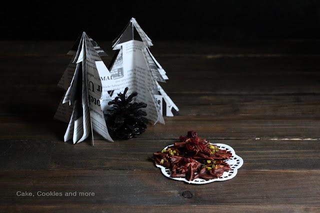 Schokoladen Mandelhäufchen