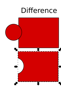 Memotong Object di Inkscape