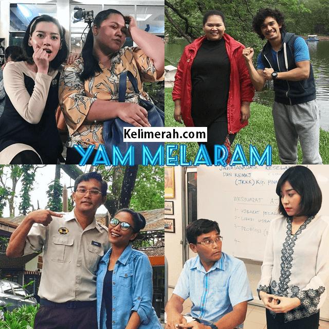Telemovie Yam Melaram ,Skrin Di 9 Lakonan Sherry Alhadad, Nadzmi Adhwa, Nonny Nadirah