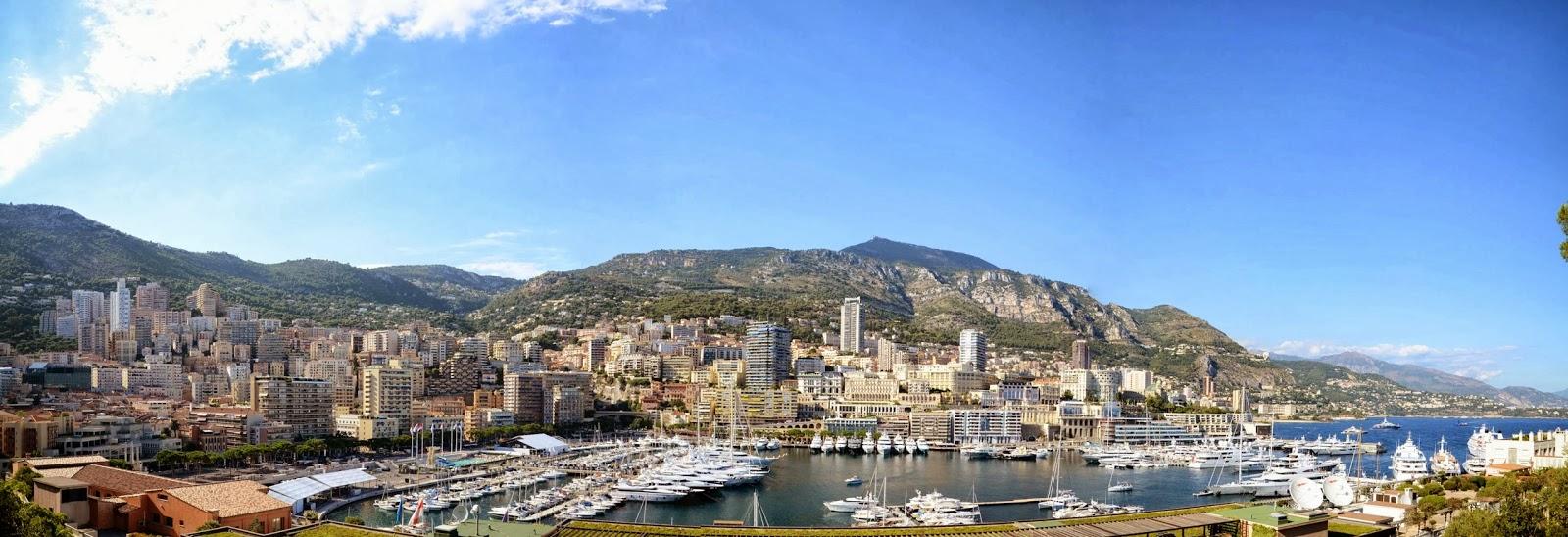 모나코 전경 モナコ全景