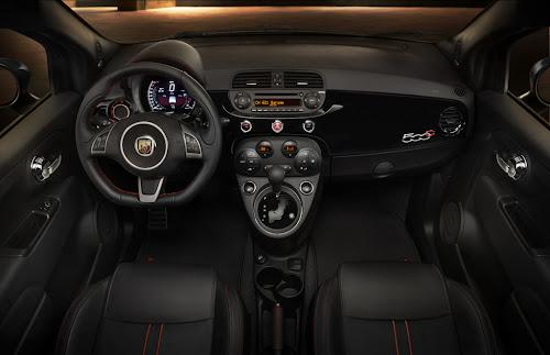 2015 Fiat 500 Abarth Dashboard