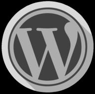 wordpress whiteout icon