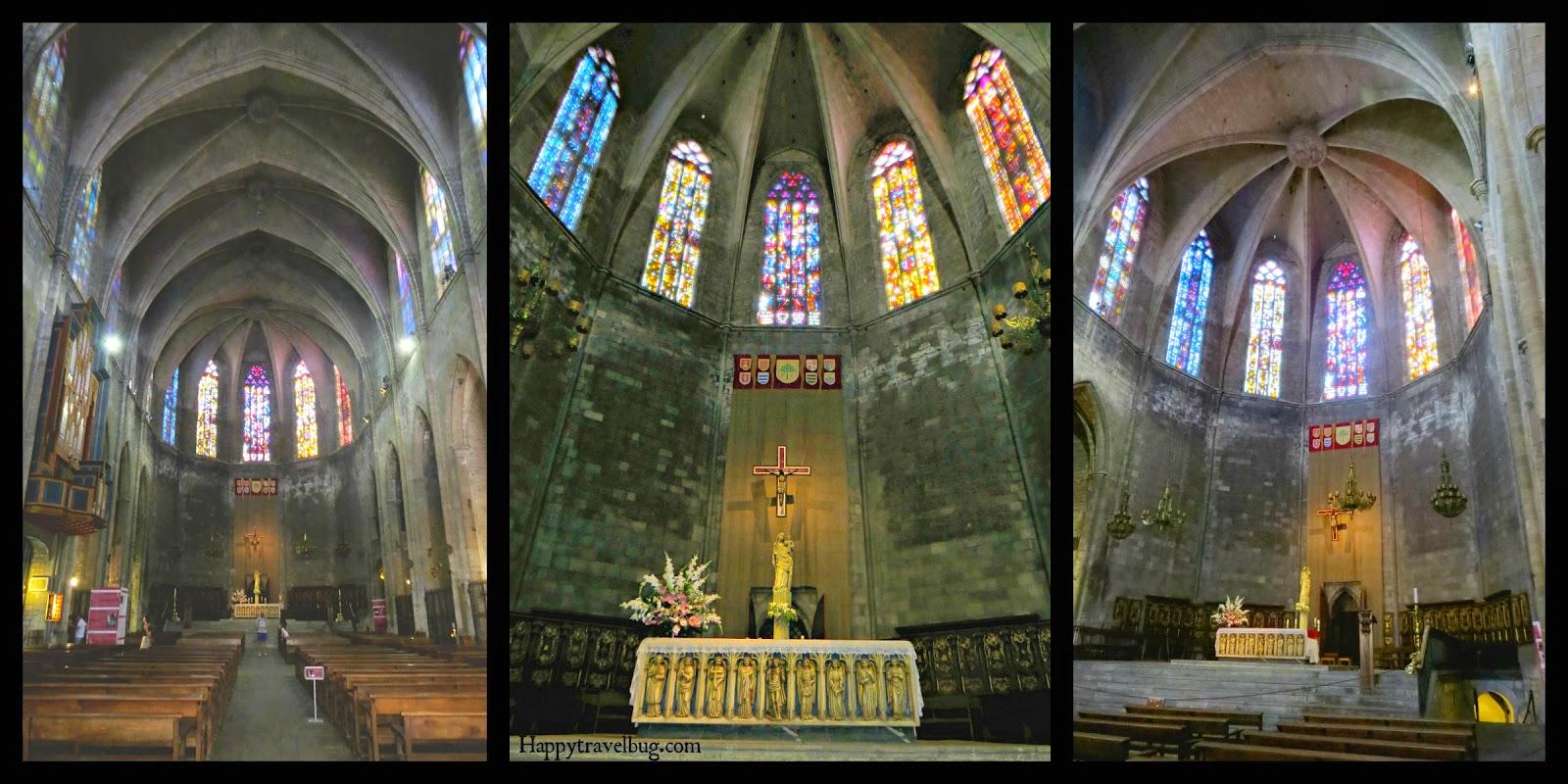 The Basilica Santa Maria del Pi inside