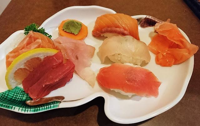 Nuts Chan, Mt Waverley, sashimi, sushi