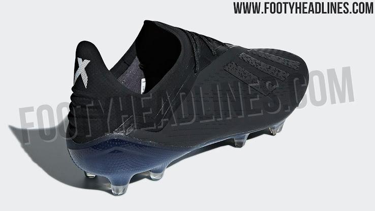 size 40 3aaf0 ebf76 Blackout Adidas X 18 Shadow Mode Boots Leaked - Footy Headli