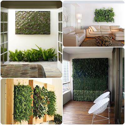Gaguita mia jardines verticales - Jardin vertical en casa ...