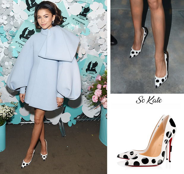 a846cb818b04 Zendaya - Tiffany   Co. Paper Flowers Event And Believe In Dreams ...