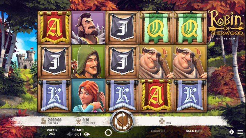 Joaca acum Robin of Sherwood Slot Online
