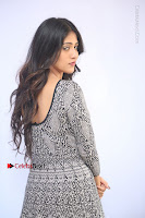Actress Chandini Chowdary Pos in Short Dress at Howrah Bridge Movie Press Meet  0060.JPG