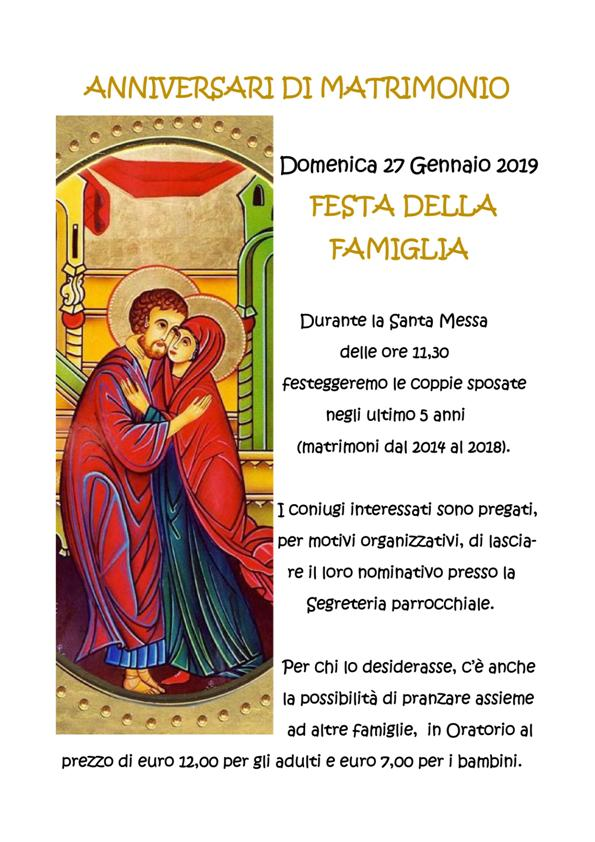 Anniversario Di Matrimonio Qumran.Anniversari Di Matrimonio Parrocchia Santa Giustina