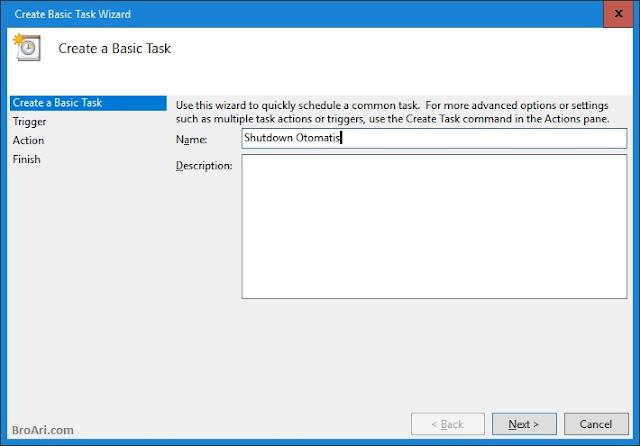 Mematikan Komputer Otomatis di Windows 10