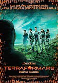 """Cine: """"Terra Formars"""" de Takashi Miike estreno en cines el 19 de Enero."""