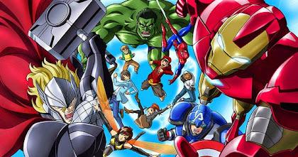 Todos os Episódios de Marvel Disk Wars: The Avengers Online