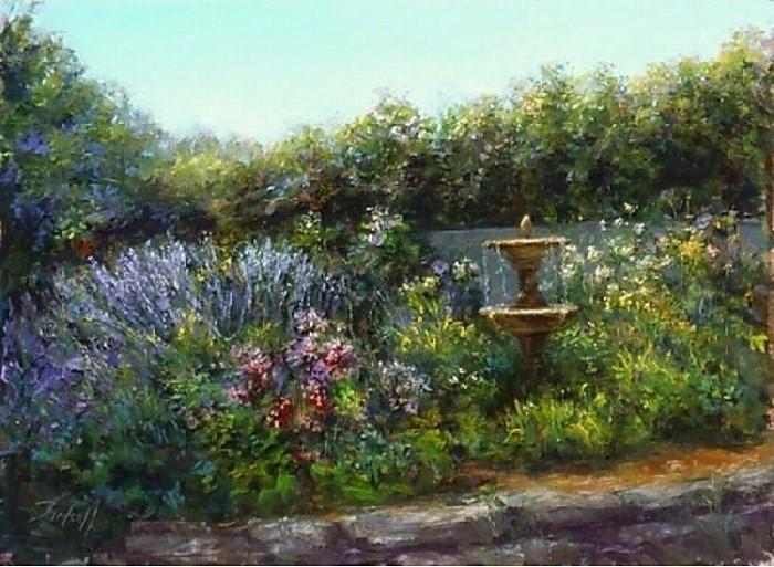 Цветочные картины. Stephanie Birdsall 15