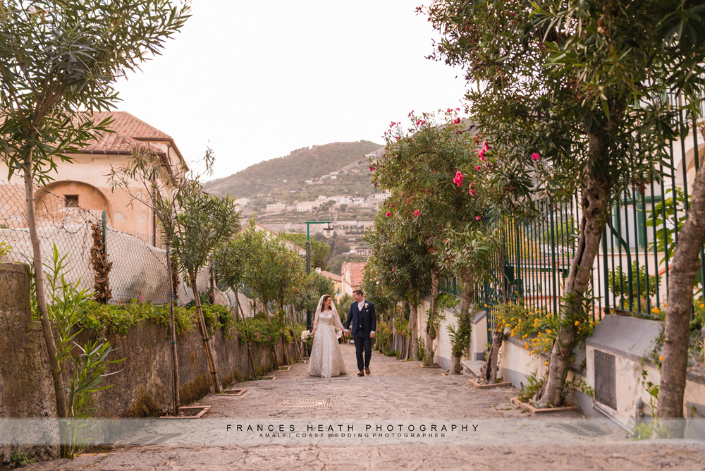 Wedding portraits in Ravello