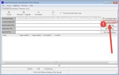 Cara Flash/instal ulang lenovo a328 dengan mudah