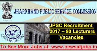 jpsc-lecturers-post-Recruitment