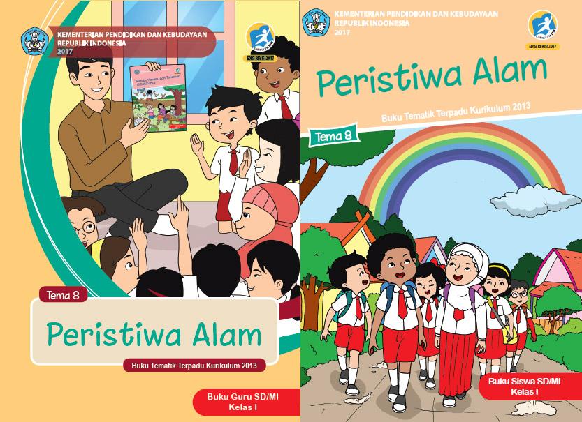 Buku Kurikulum 2013 Sd Mi Kelas 1 Tema 8 Edisi Revisi 2017 Untuk Guru Dan Siswa Dadang Jsn