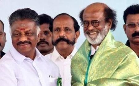 OPS is a lucky man – Rajinikanth at Sivaji Ganesan memorial inauguration