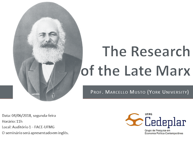The research of the late Marx
