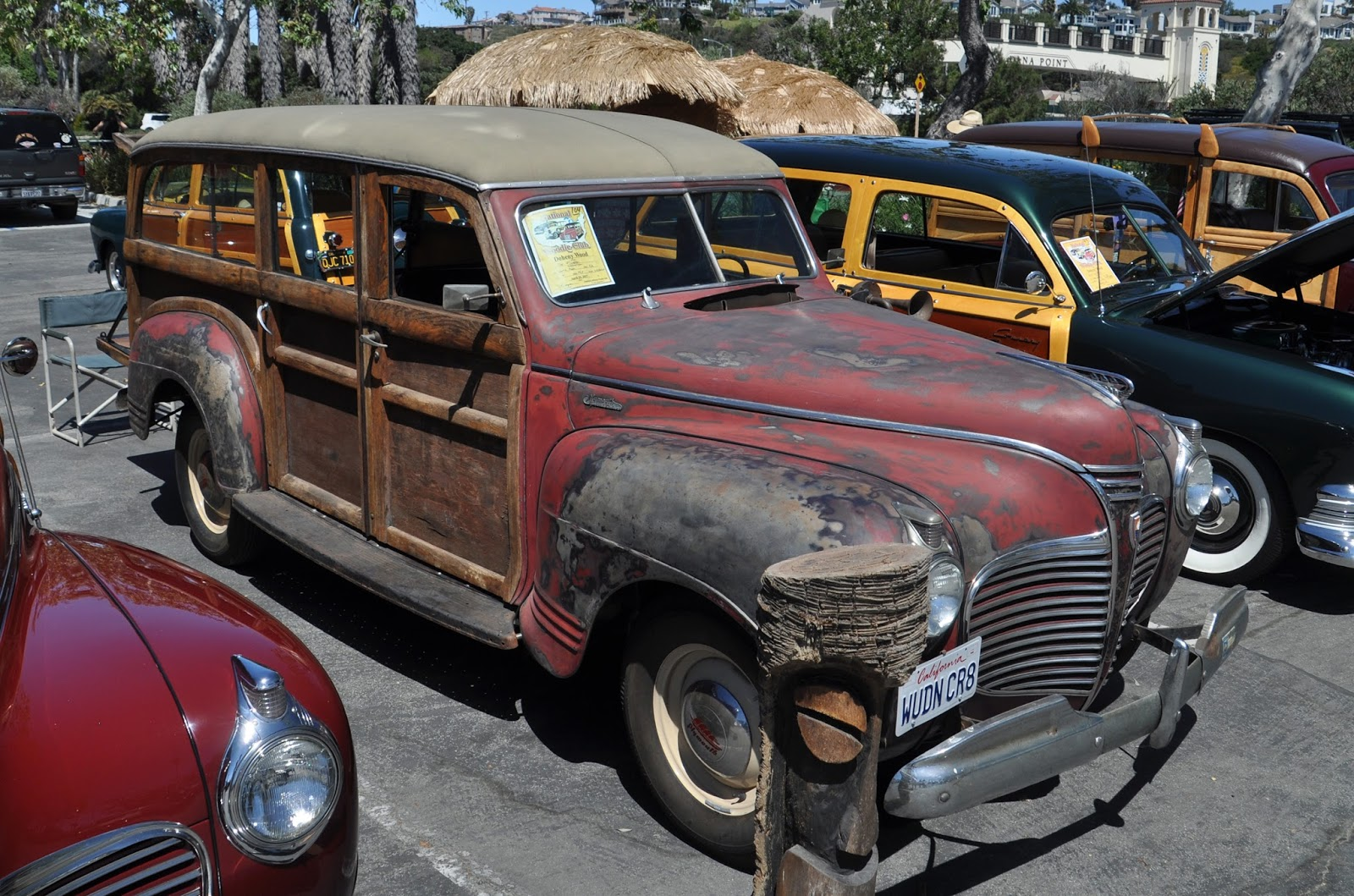 Just A Car Guy: 1941 Plymouth woodies, rough and restored - compared ...
