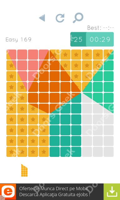 Cheats, Walkthrough for Blocks and Shapes Level 169