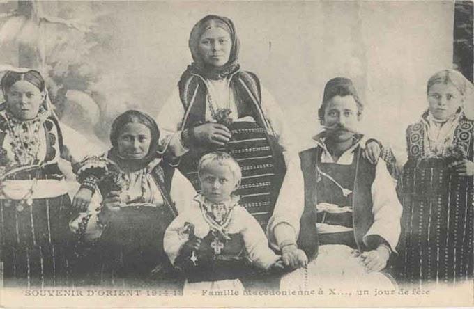 Mazedonier und Mazedonisch - Bis 1930 übliche Bezeichnungen in Griechenland