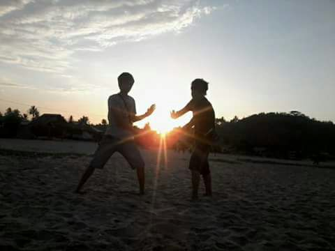 Panorama Pantai Sawarna | Sunset