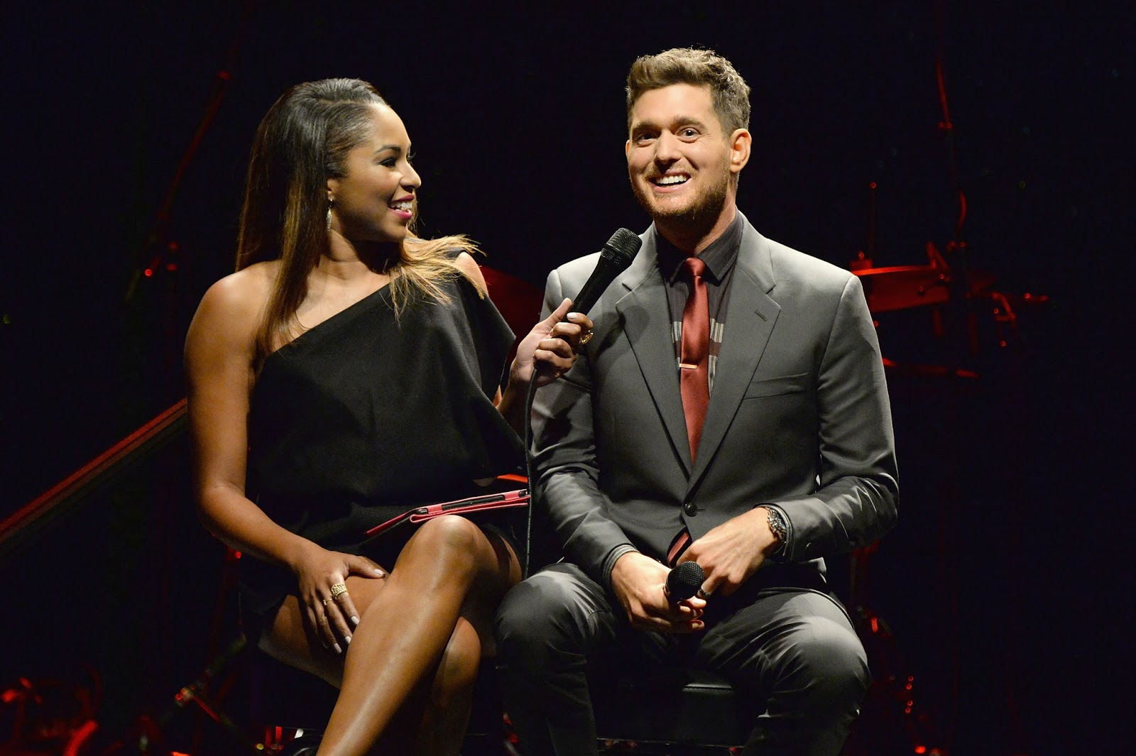 Michael Buble, By Invitation perfume launch in New York