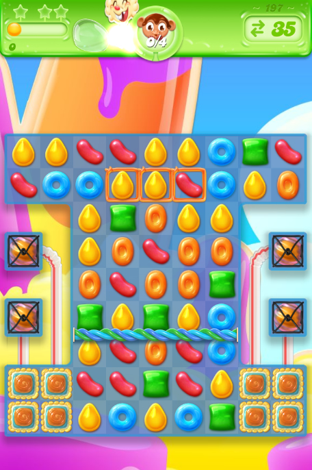 Candy Crush Jelly Saga 197