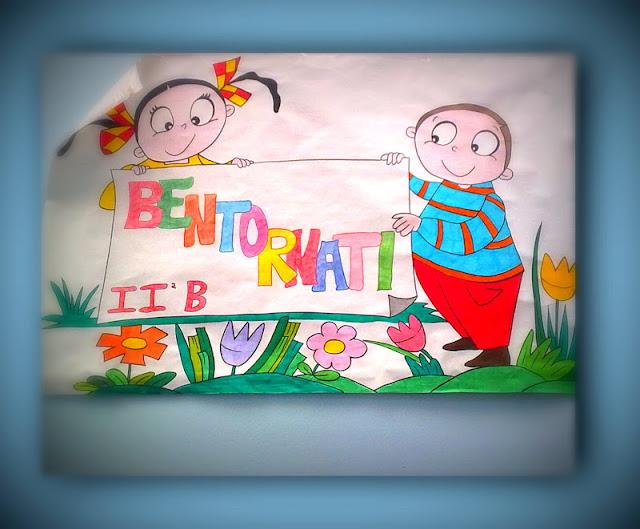 La scuola in cartella primo giorno di scuola 2 pareti for Idee per cartelloni scuola infanzia