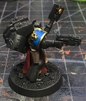 Deathwatch Librarian with Jump Pack WIP right side